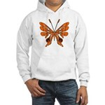 Butterfly Tattoo Hooded Sweatshirt
