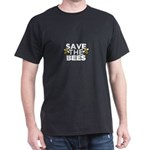 Save The Bees - Animal Rights Supporters E T-Shirt