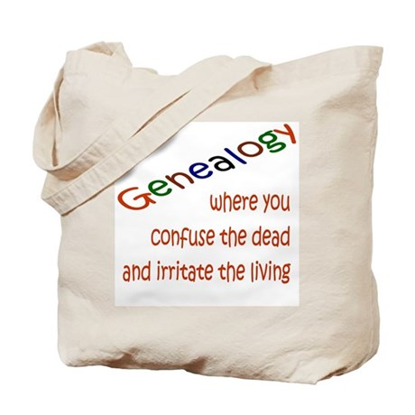 Genealogy For You Tote Bag