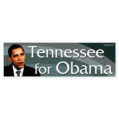 Tennessee for Obama bumper sticker