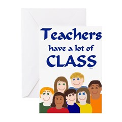 Teachers Have a Lot of CLASS-Note Cards
