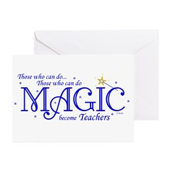 Those Who Can Do Magic Greeting Cards (Package of 6)