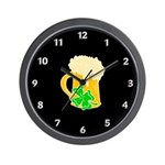 Irish beer by the pitcher is the perfect clock for pubs, bars and home!