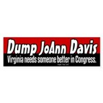 Republican Jo Ann Davis Bumper Sticker