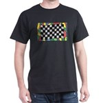 Checkered Stained Glass Window T-Shirt