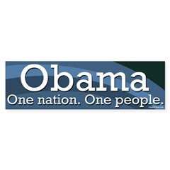 Barack Obama for President: One Nation, One People