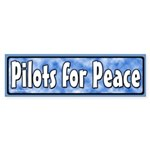 Pilots for Peace Bumper Sticker
