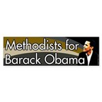 Methodists for Barack Obama bumpersticker