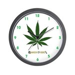 420 Clock with AIYH Logo