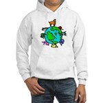 Animal planet Hooded Sweatshirt featuring wildlife around the world.