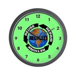 Recycling for Earth Day and Arbor Day Think Green Wall Clock
