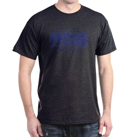 -PIONEERS amp; MASTERS-GOSS BLUE Harris Dark T-Shirt by CafePress
