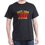 HOT BBQ chef in action T-Shirt
