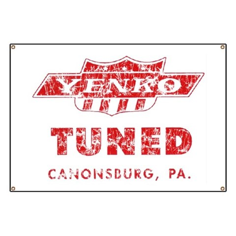 Yenko Tribute Garage  Vintage Banner by CafePress