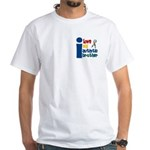 I Love My Autistic Brother 1 White T-Shirt