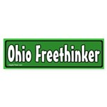 Ohio Freethinker Bumper Sticker