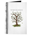 Water Your Money Tree Journal