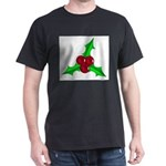 Christmas Holly Leaf T-Shirt