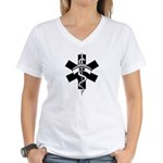 RN Nurses Women's V-Neck T-Shirt