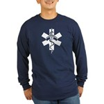 RN Nurses Long Sleeve Dark T-Shirt