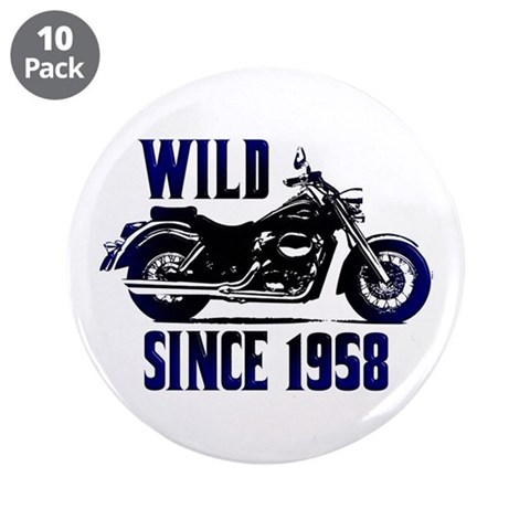 Cool 50th Gifts  Birthday 3.5 Button 10 pack by CafePress
