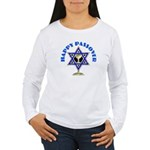Happy Passover Women's Long Sleeve T-Shirt