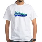 Waterboarding White T-Shirt