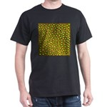gold, silver, metal, shiny, fantasy, art, T-Shirt