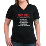 May Girl Hated By Many T-Shirt