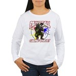 Paint Ball Game Over Women's Long Sleeve T-Shirt