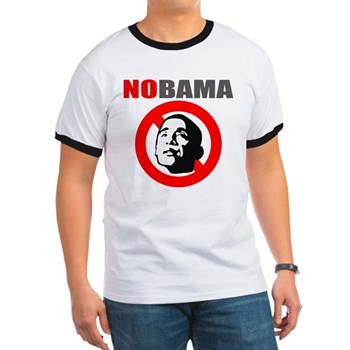 No Obama Ringer T