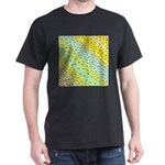 gold an silber leaf in blue yellow green m T-Shirt
