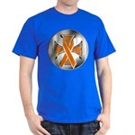 Leukemia Iron Cross T-Shirt