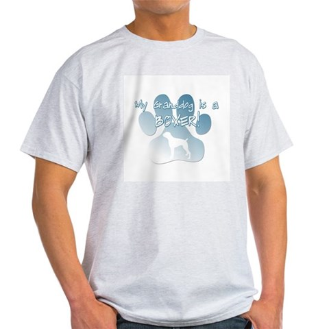 Boxer Granddog Light TShirt Pets Light T-Shirt by CafePress