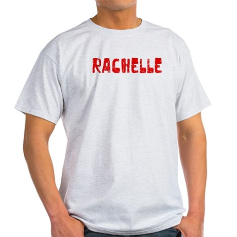 Rachelle Faded Red Vintage Light T-Shirt by CafePress