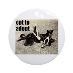 Opt To Adopt Ornament