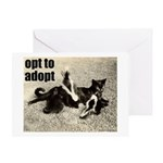Opt To Adopt Greeting Cards