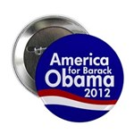 America for Barack Obama Button