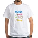 Chillin With My Peeps Funny Easter Day Eas T-Shirt