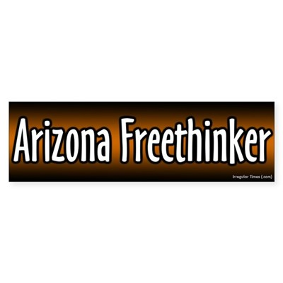Arizona Freethinker Bumper Sticker
