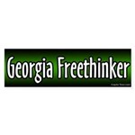 Georgia Freethinker Bumper Sticker