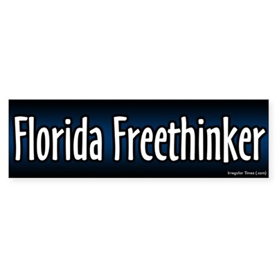 Florida Freethinker Bumper Sticker