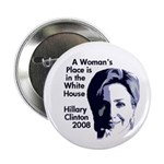 "A Woman's Place 2.25"" Button"
