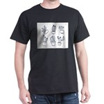 Cute Cacti Doodles T-Shirt