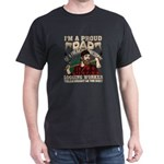 Dad Of A Freaking Awesome Logging Worker T T-Shirt
