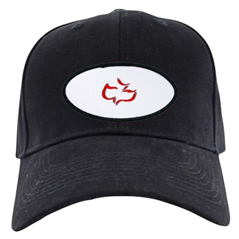 Calvary Chapel Dove Black Cap by CafePress