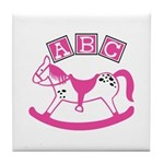 Rocking Horse Tile Coaster