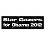 Skygazers for Obama 2008 bumper sticker