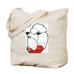 Female Poodle Tote Bag