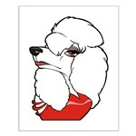 Female Poodle Small Poster